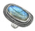 Labradorite Ring Solid 925 Sterling Silver Jewelry - YoTreasure