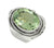 Natural Green Amethyst Ring 925 Sterling Silver Designer Jewelry - YoTreasure