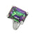 Rainbow Quartz Solid 925 Sterling Silver Ring Jewelry - YoTreasure