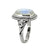 Moonstone Solid 925 Sterling Silver Gemstone Ring - YoTreasure