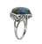 Labradorite Solid 925 Sterling Silver Ring - YoTreasure