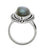 Labradorite Solid 925 Sterling Silver Split Shank Ring Jewelry - YoTreasure