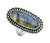 Labradorite Solid 925 Sterling Silver Ring Jewelry - YoTreasure