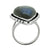 Labradorite Ring Solid 925 Sterling Silver Gemstone Jewelry - YoTreasure