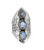 Labradorite Solid 925 Sterling Silver Designer Filigree Ring Jewelry - YoTreasure