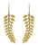 Gold Plated Over Brass Large Earrings Jewelry - YoTreasure