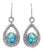 Turquoise 925 Solid Sterling Silver Earring - YoTreasure