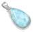 YoTreasure Natural Larimar  1 3/4