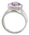 Natural Amethyst Solid 925 Sterling Silver Gemstone Ring - YoTreasure