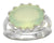 Aqua Chalcedony Solid 925 Sterling Silver Ring Jewelry - YoTreasure