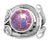 Purple Copper Turquoise Solid 925 Sterling Silver Ring Jewelry - YoTreasure
