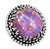 Purple Copper Turquoise 925 Sterling Silver Rings Silver Jewelry - YoTreasure