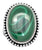 Natural Malachite 925 Sterling Silver Rings Silver Jewelry - YoTreasure