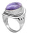 Charoite 925 Sterling Silver Rings Silver Jewelry - YoTreasure