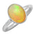 Ethiopian Opal Solid 925 Sterling Silver Ring Jewelry - YoTreasure