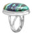 Azurite Malachite 925 Sterling Silver Ring - YoTreasure
