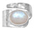 Rainbow Moonstone 925 Sterling Silver Gemstone Ring - YoTreasure