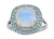 5.60 Ct. Moonstone Swiss Blue Topaz Solid 925 Sterling Silver Ring Jewelry - YoTreasure