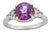 Coated Purple Topaz Solid 925 Sterling Silver Ring Jewelry - YoTreasure
