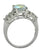 Mercury Topaz White Topaz 925 Sterling Silver Women's Ring - YoTreasure