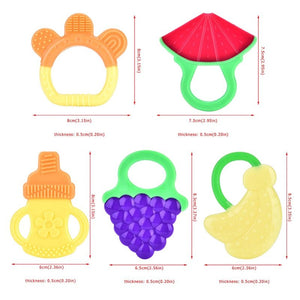 SILICONE BABY TEETHER (BUY 2 TAKE 1)