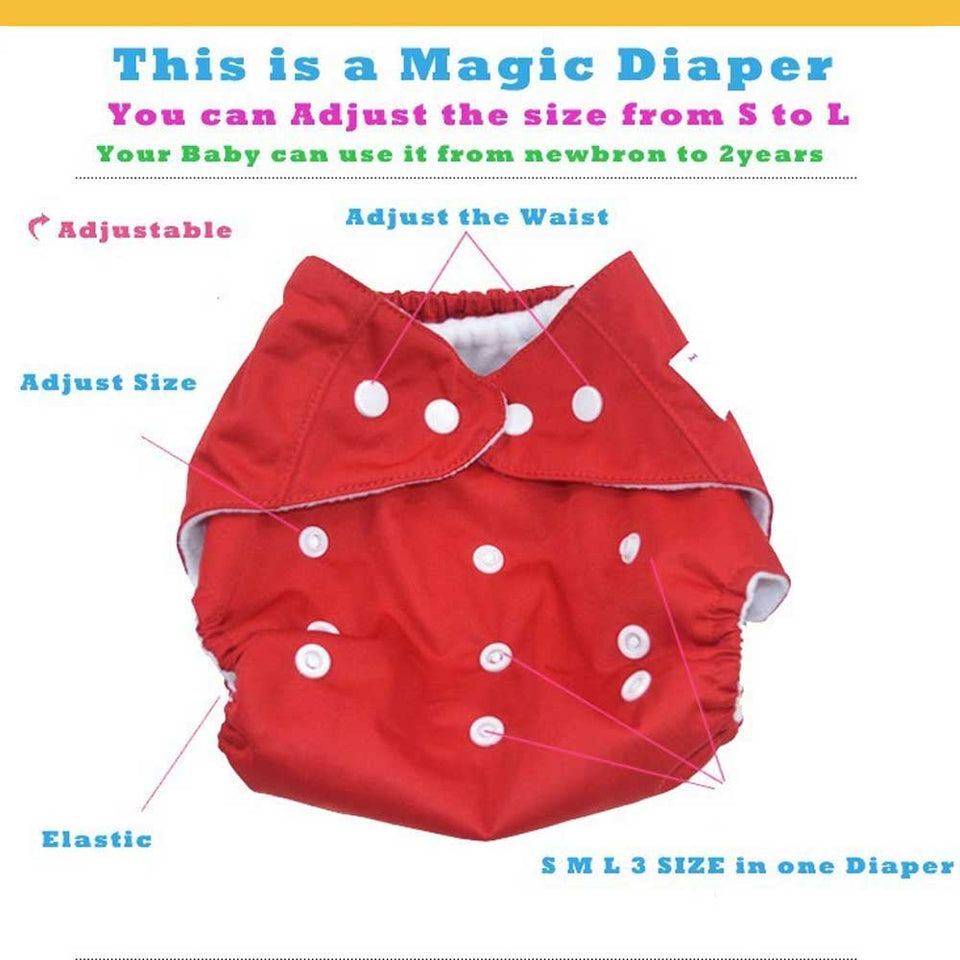 BABY CLOTH DIAPERS (BUY 2 TAKE 1)