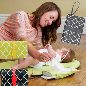 PORTABLE DIAPER CHANGING COVER MAT