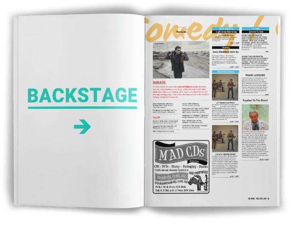 Backstage - Print & Digital Package