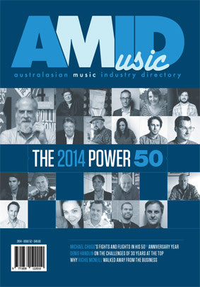Australasian Music Industry Directory #52 2014 Power 50