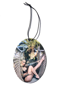 Sabina Kelley - Air Freshener - Ocean Scent - Oval Shape