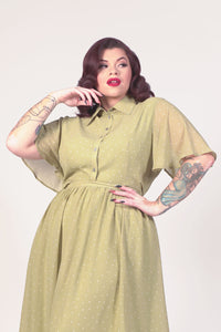 Dorothy Blouse in Sage