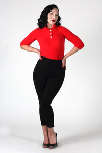 Glenda Sweater in Red