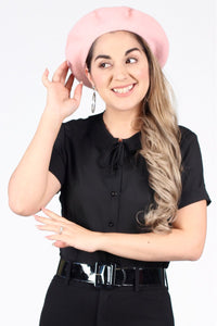 Beret in Pink