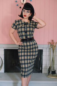 Rita Pencil in Plaid