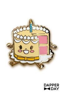 Baby Cake Pin by Dapper Day for Tatyana