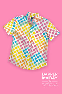 Harvey Shirt in Dot Candy Print