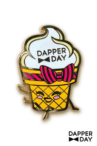 Sassy Soft Serve Pin by Dapper Day for Tatyana