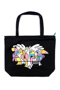 Birds of a Feather Zip Tote By Dapper Day