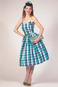 Sandra in Picnic Blue