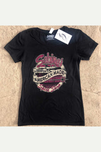 Sabina's Speed Shop Shirt Women's - Magenta