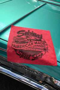 Sabina Kelley - Sabina's Speed Shop Microfiber Towel