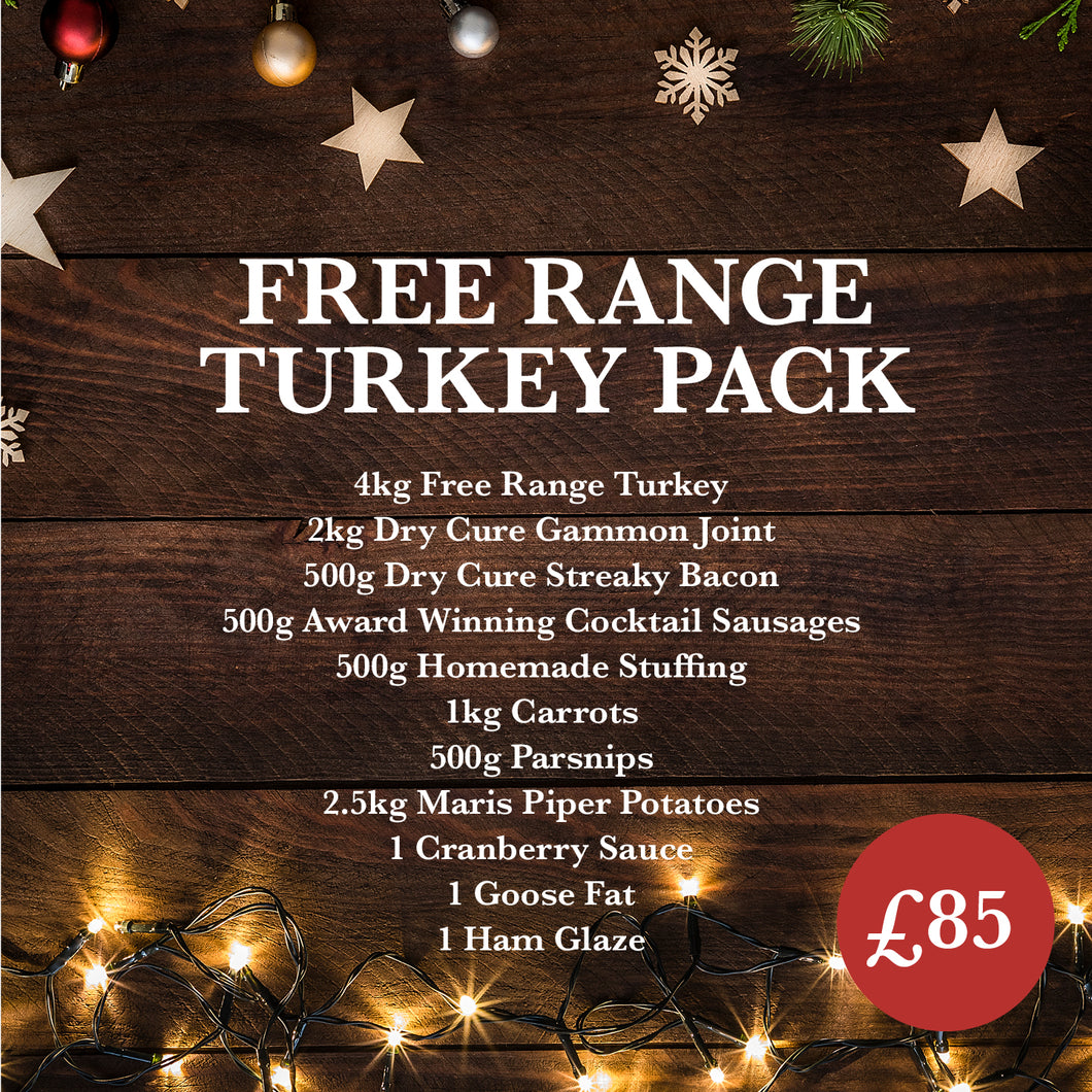 Free Range Turkey Pack