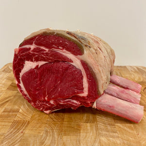 Beef Rib Roast On The Bone