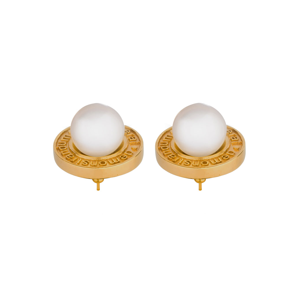 QED Pearl Earrings