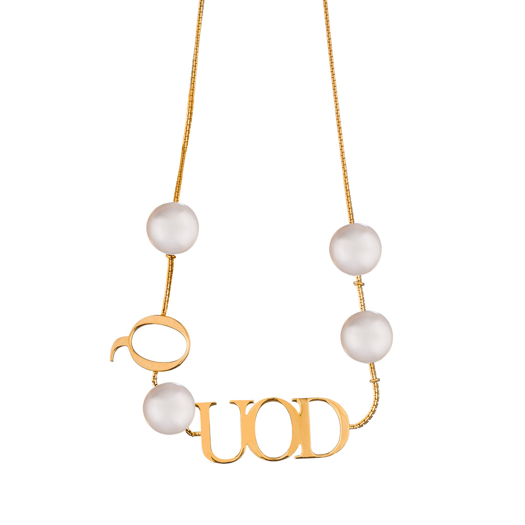 Fragmented QUOD Necklace