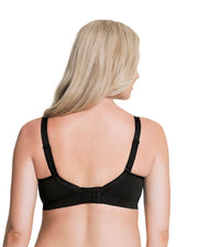 Cake Lingerie Sugar Candy Seamless Wirefree Nursing Bra Black