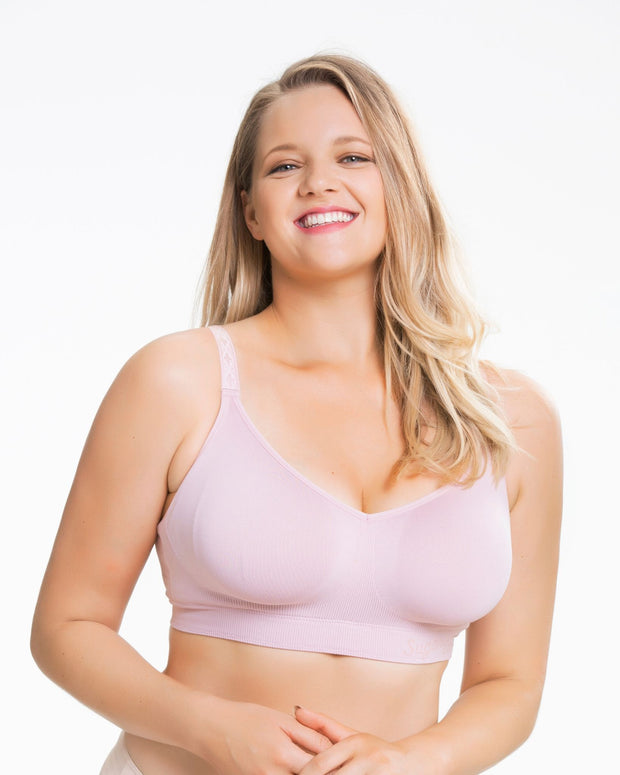 Cake Lingerie Sugar Candy Seamless Wirefree Everyday Bra Pink
