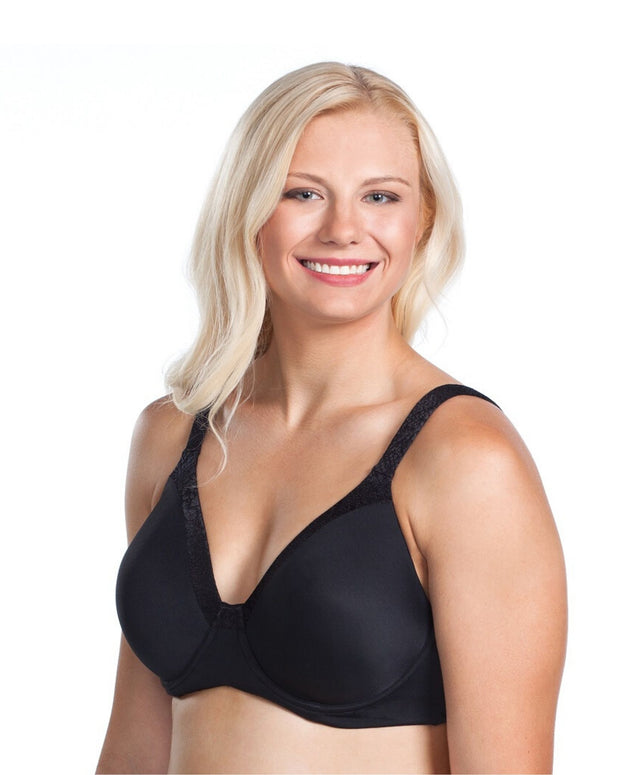 Leading Lade Luxe Body Wirefree Bra Black