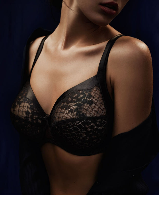 Empriente Melody Full Cup Bra Black