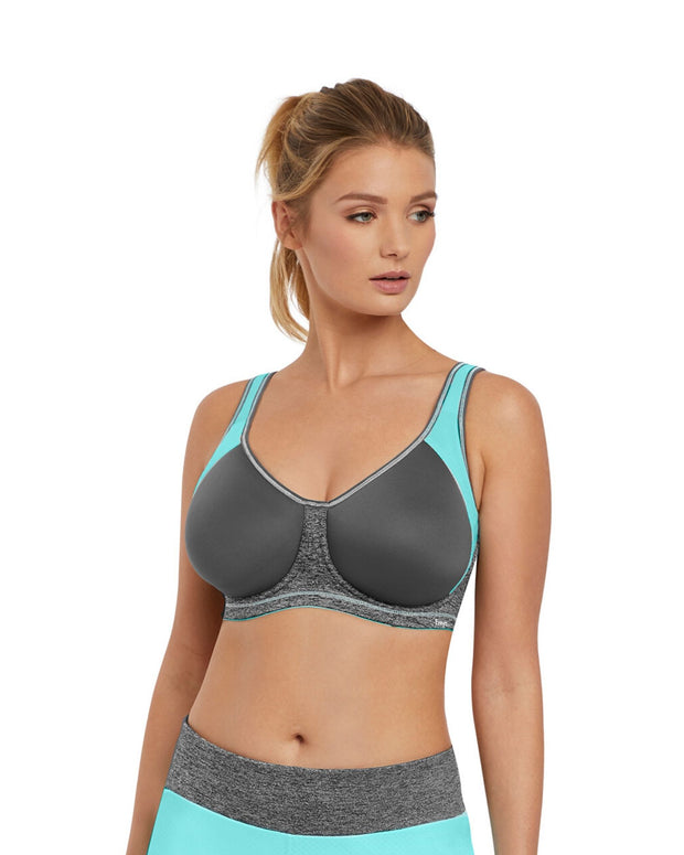 Freya Active Sonic Moulded Spacer Sports Bra Carbon
